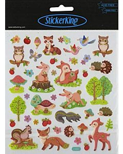 Forest Critters Stickers