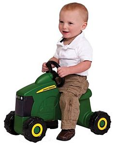 Foot To Floor Tractor Ride-On - Green, 18 Mos-4 Years