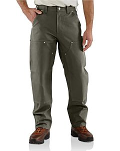 Men's Firm Duck Double-Front Work Dungaree
