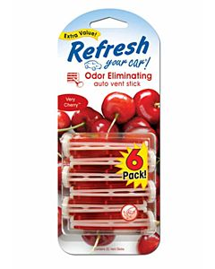 Very Cherry Vent Stick Fresheners -6 Count