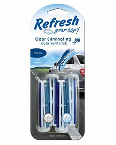 Cool Breeze New Car Scent Freshener -4 Count