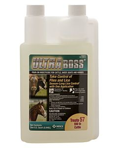 Ultraboss Pour On Insecticide - 30 oz