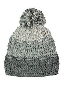 Women's Reflective Beanie - Gray, One Size Fits All
