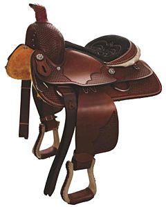 Pro Junior Roper 13 Saddle - Brown, 26 in X 20 in