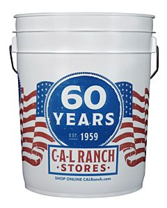 C-A-L Ranch Store Bucket - 60th Anniversary, 5 gal