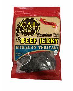 4 oz Cal Ranch Beef Jerky - Hawaiian