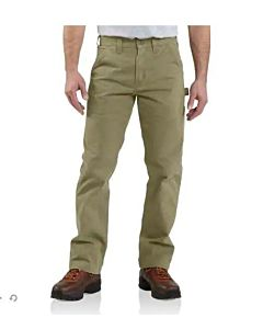 Men's Washed Twill Dungaree Work Pant