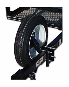 Spare Tire Carrier - Black