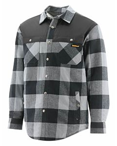 Men's Plaid Insulated Jacket