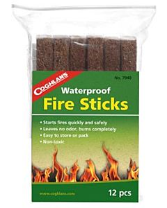 Waterproof Fire Sticks, 12-Pack