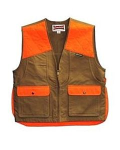 Gamehide Front Loader Upland Vest - Orange | Brown, M