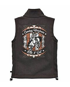 Boys Ride It Out Poly Shell Vest