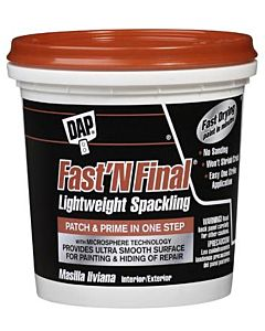 Fast 'N Final Lightweight Spackling - 1/2 pt