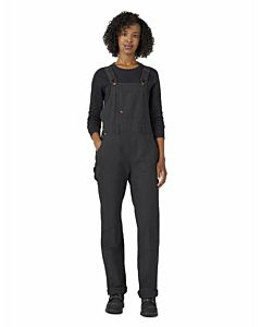 Women's Double Front Duck  Overalls
