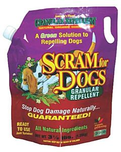 Dog Scram Granular Repellent - 3.5 Lbs