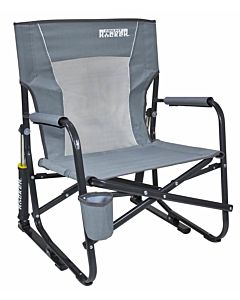 Firepit Rocker - Mercury Gray