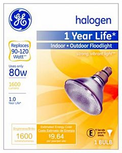 Halogen Ge 80W Flood Blub