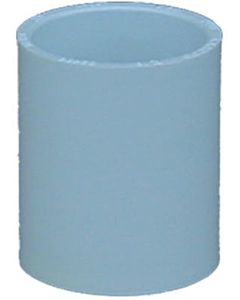 Extended Socket Coupling, Pvc - White, 2 in