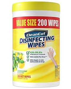 Lemon Disinfecting Wipes