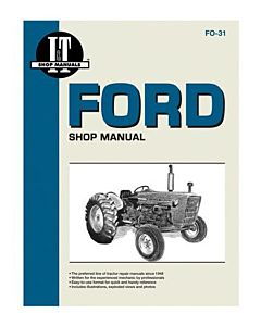 Tractor Shop Manual Ford Series Gas