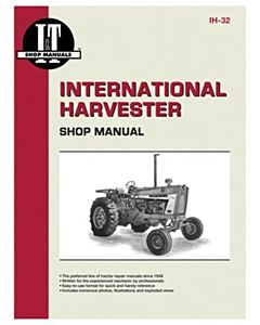 Tractor Shop 201 Manual International Harvester Gas