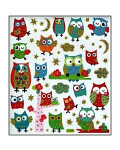 Hooters Owl Stickers