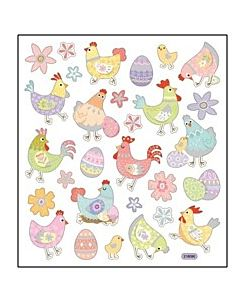 Spring Chickens Stickers