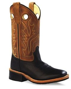 Old West Square Toe Kids Boot
