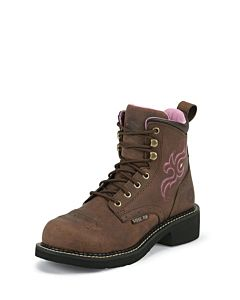 Women's Gypsy Katerina Steel Toe Lace Up Work Boots