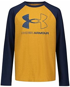 Boys Symbol Raglan Long Sleeve Tee