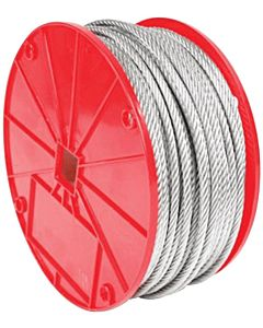 Apex Galvanized Cable 7x19 1/4-In. x 250-Ft. (Sold by the Foot)