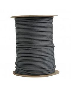 Gray 550 Utility Nylon Cord - 45 lb (Sold by the Foot)