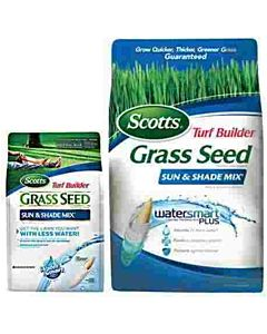 Turf Builder Sun & Shade Seed. Covers 1200 Sq. ft - 3 lb