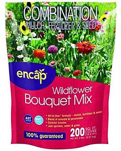 Wildflower Bouquet Mulch Seed - 2 lb