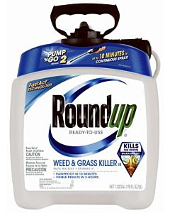 Roundup Pump 'N Go Weed & Grass Killer - 1.33 gal