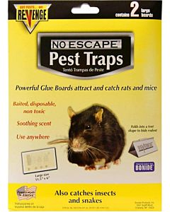 Revenge Disposable Glue Boards Rats - 2 Pack