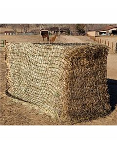 Texas Haynet Square Bale Net - Black