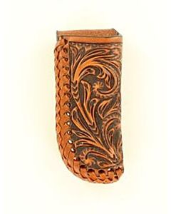 Men's Sheath Tooled - L, Tan