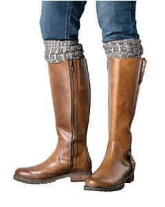 Women's Ariat Tall Knee Sock - Brown