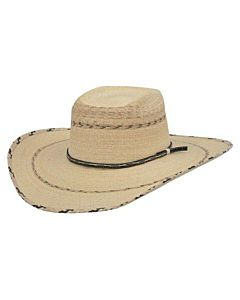 Men's Straw Stampede Cowboy Hat, 6.75