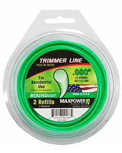 Roundcut Residential Grade Trimmer Line .080 in X 40'