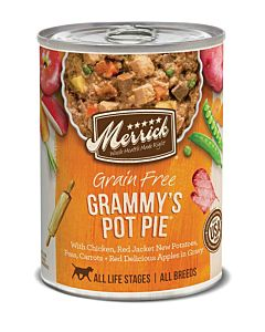Grain Free - Pot Pie, All Life Stages, 12.7 oz