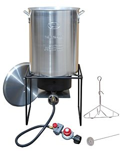 Turkey Frying Cooker - 29 Qt, Aluminum