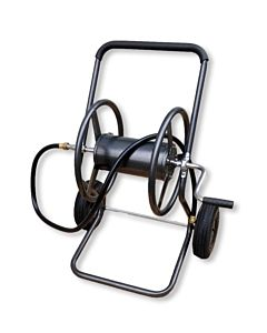 2 Wheel Hose Reel Cart - Black