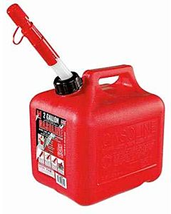Gas Can - Red, 2 gal