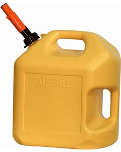 Diesel Can - Yellow, 5 gal