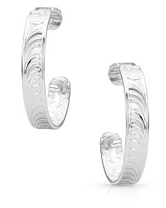 Northern Star Light Hoop Earrings