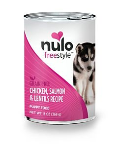 Freestyle Puppy Food - Chicken Salmon And Lentils, 13 oz