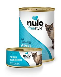 Freestyle Salmon And Mackerel Wet Cat Food - 12.5 oz