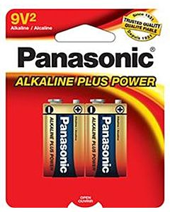 Batteries 9V2 2-Pack Alkaline